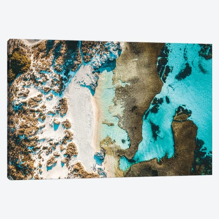 Rottnest Island Beach Aerial Canvas Print #JVO148} by James Vodicka Canvas Artwork