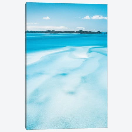 Sand Swirls Hill Inlet Whitsunday Islands Canvas Print #JVO154} by James Vodicka Canvas Wall Art