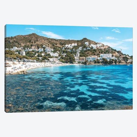 Spanish Beach Cove Canvas Print #JVO167} by James Vodicka Canvas Art Print
