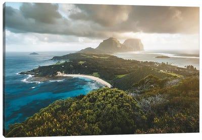 Stormy Sunset Malabar Island Lookout Canvas Art Print