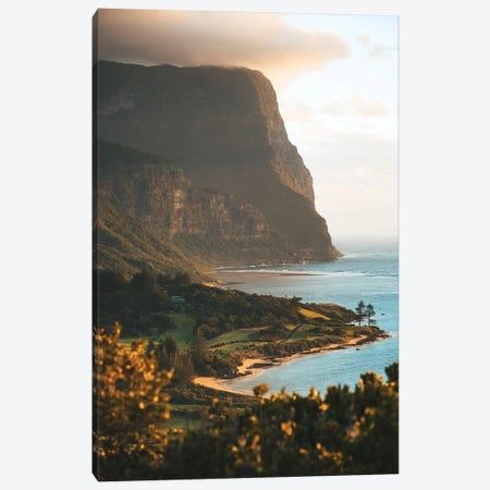 Sunset Lookout Volcanic Island Coastline Canvas Print #JVO190} by James Vodicka Art Print