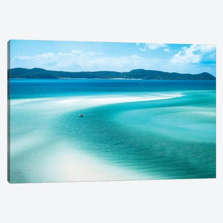 Whitehaven Hill Inlet Canvas Print #JVO233} by James Vodicka Canvas Art