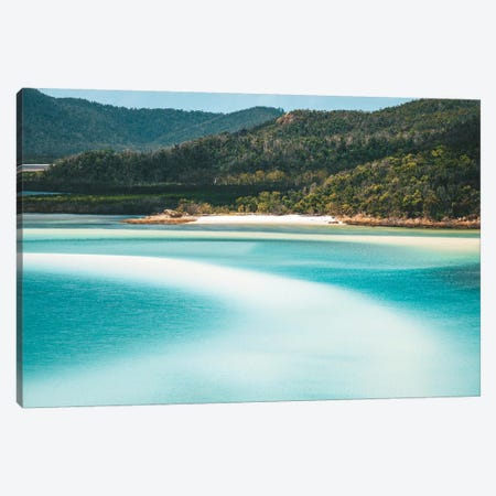 Whitsunday Beach Patterns Canvas Print #JVO234} by James Vodicka Canvas Print