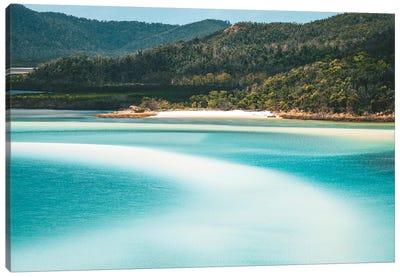 Whitsunday Beach Patterns Canvas Art Print
