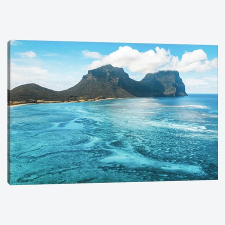 Island Lagoon Patterns Canvas Print #JVO69} by James Vodicka Canvas Artwork
