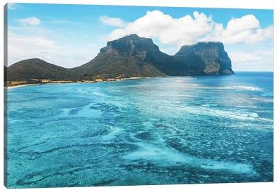 Island Lagoon Patterns Canvas Art Print