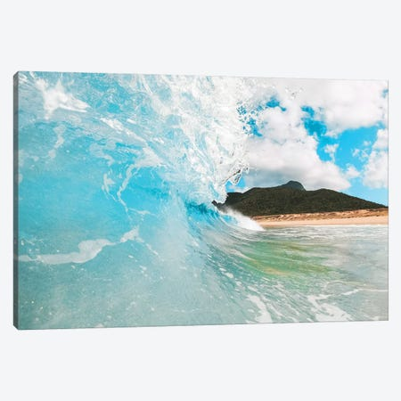 Island Surf Beach Wave Barrel Canvas Print #JVO71} by James Vodicka Canvas Art Print
