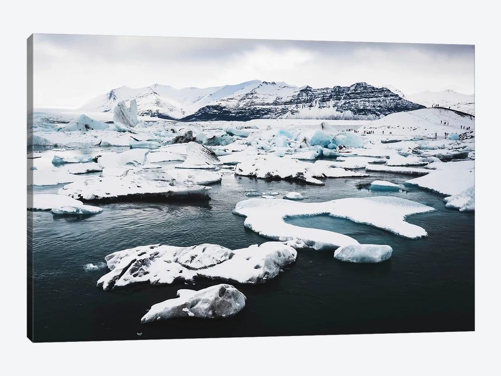 Jökulsárlón Glacier Ice Lagoon 2 by James Vodicka 1-piece Canvas Wall Art