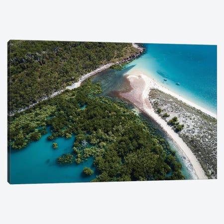 Kimberley Beach Aerial Canvas Print #JVO78} by James Vodicka Art Print