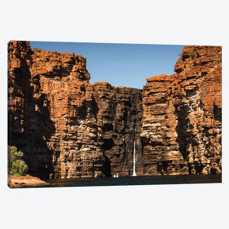 King George River Kimberley Waterfall Canvas Print #JVO82} by James Vodicka Canvas Art