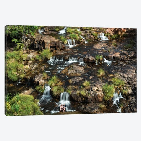 King's Cascade Waterfalls Kimberley Canvas Print #JVO83} by James Vodicka Canvas Art