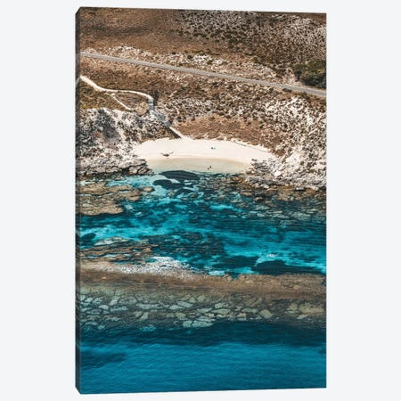 Little Armstrong Bay Rock Formations Aerial Canvas Print #JVO86} by James Vodicka Canvas Print