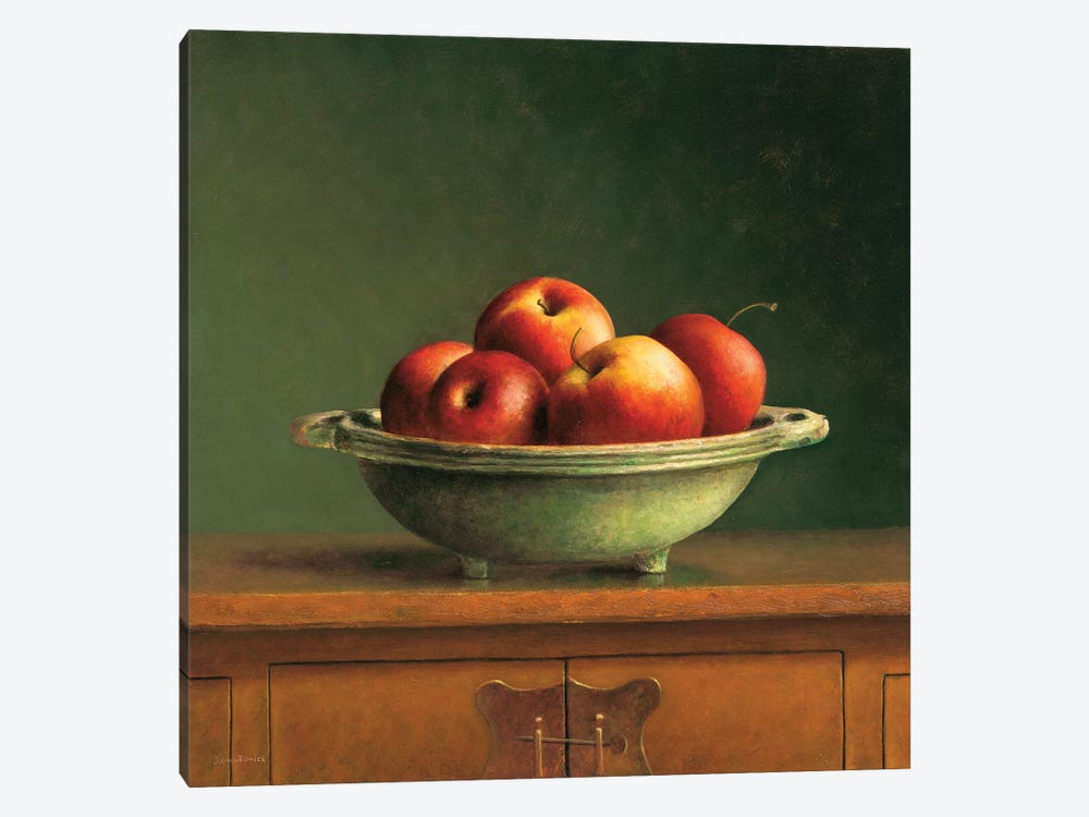 Apples by Jos van Riswick 1-piece Canvas Art