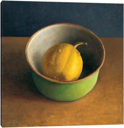 Green Bowl I Canvas Art Print