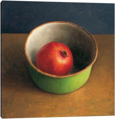 Green Bowl II Canvas Art Print