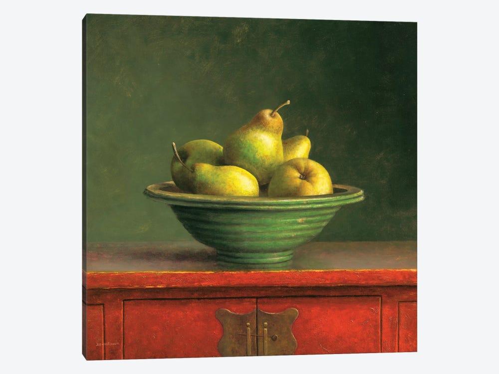 Pears by Jos van Riswick 1-piece Art Print