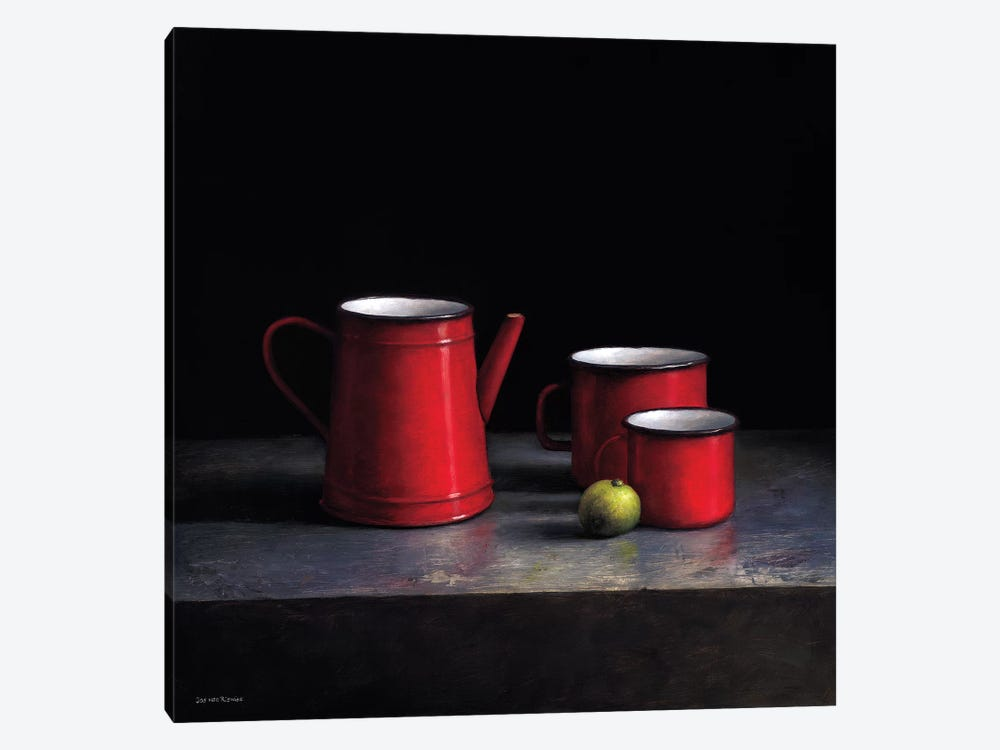 Pots And Pans II by Jos van Riswick 1-piece Canvas Art Print
