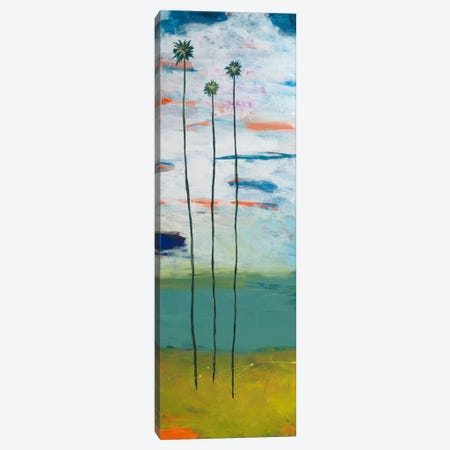 Desert Palms Canvas Print #JWE12} by Jan Weiss Canvas Art