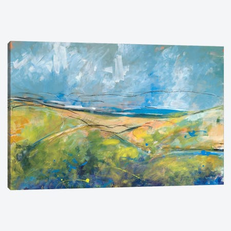 Early Spring Days Canvas Print #JWE13} by Jan Weiss Canvas Wall Art