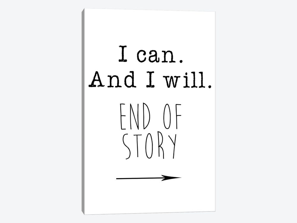 I Can by Jan Weiss 1-piece Canvas Wall Art