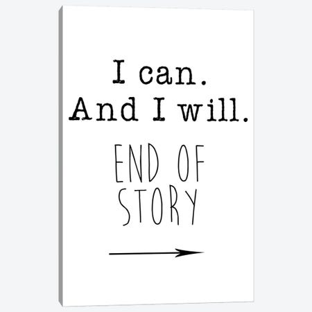 I Can Canvas Print #JWE16} by Jan Weiss Canvas Print