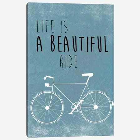 A Beautiful Ride Canvas Print #JWE1} by Jan Weiss Canvas Print