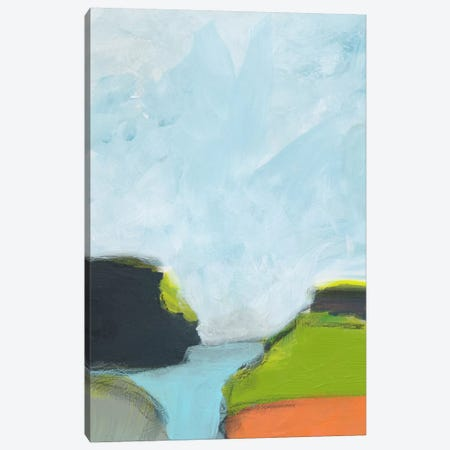 Landscape No. 87 Canvas Print #JWE29} by Jan Weiss Art Print