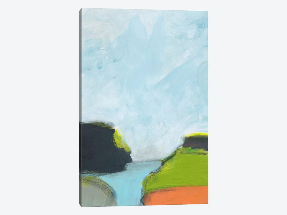 Landscape No. 87 by Jan Weiss 1-piece Canvas Wall Art