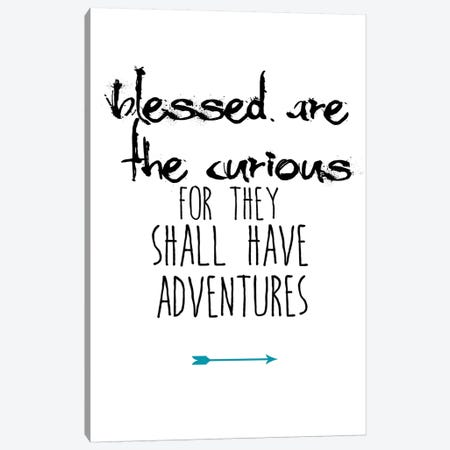 Blessed Are The Curious Canvas Print #JWE2} by Jan Weiss Art Print