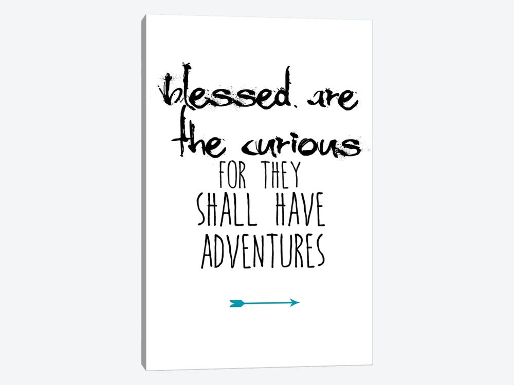 Blessed Are The Curious by Jan Weiss 1-piece Canvas Art Print