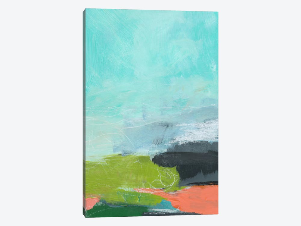 Landscape No. 95 by Jan Weiss 1-piece Canvas Print