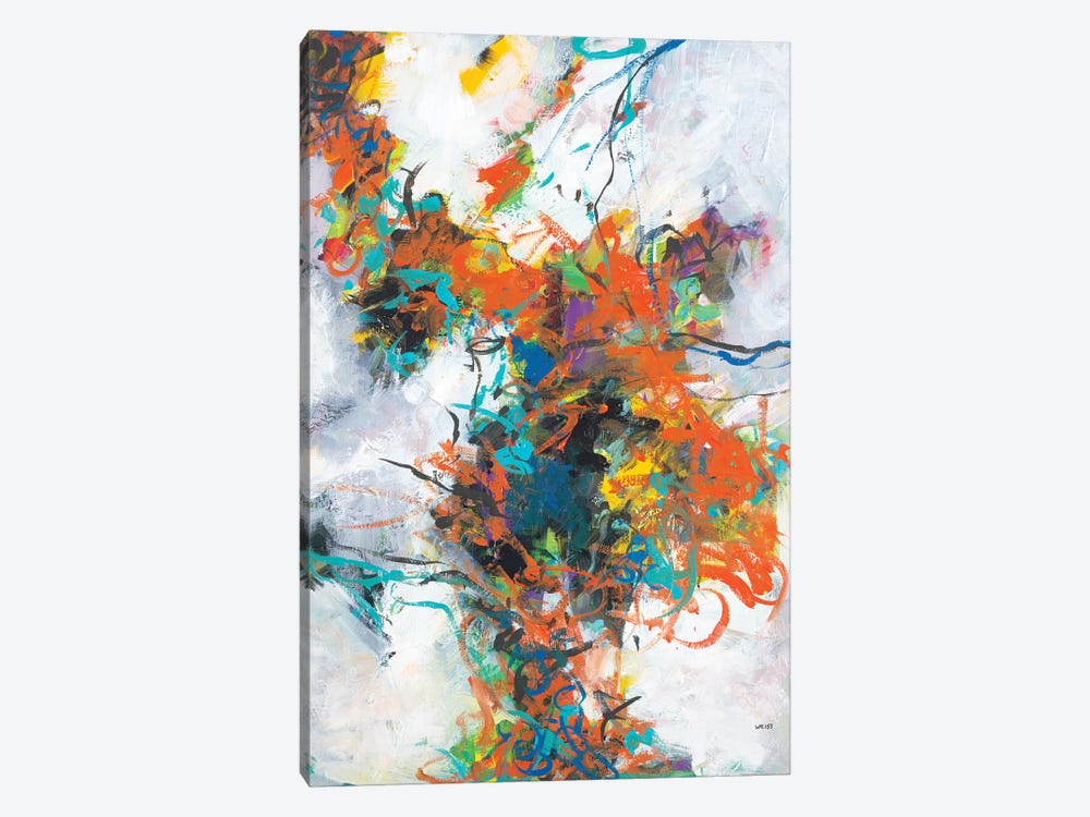 Fracture by Jan Weiss 1-piece Canvas Art