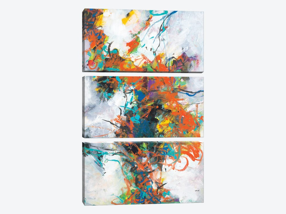 Fracture by Jan Weiss 3-piece Canvas Artwork