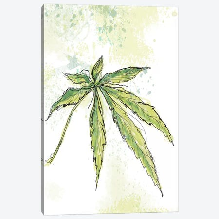 Blue Dream Canvas Print #JWE3} by Jan Weiss Art Print