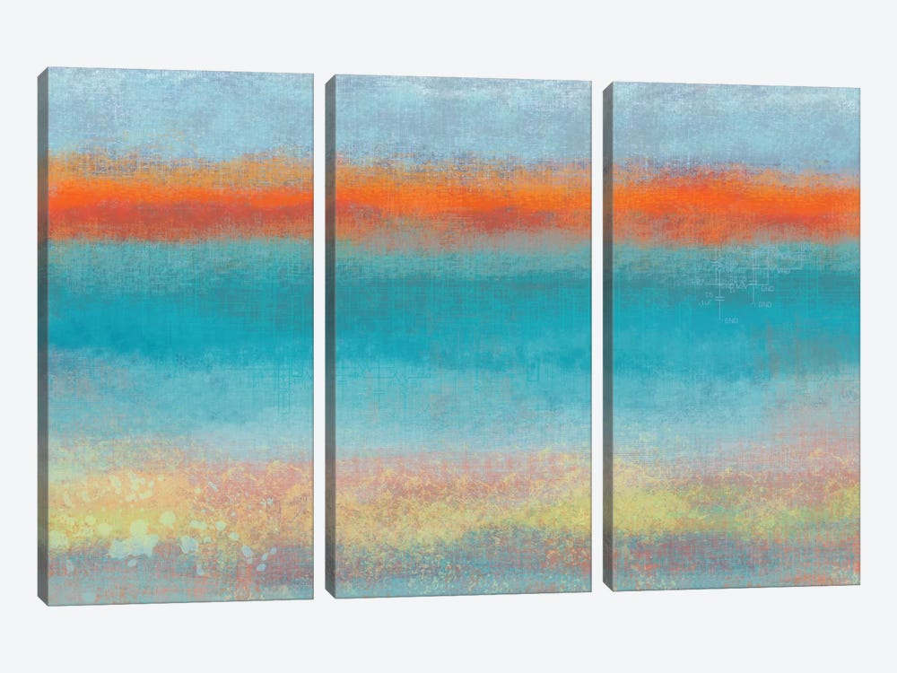 Country Sky I by Jan Weiss 3-piece Art Print