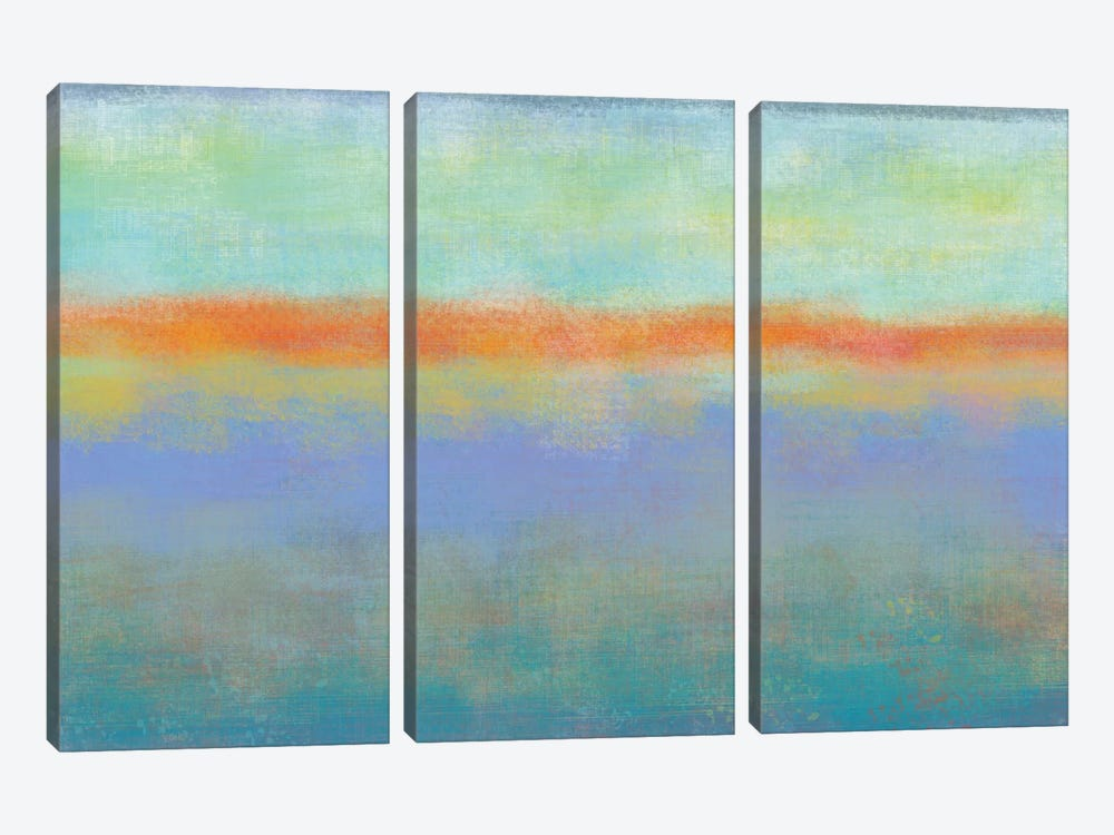 Country Sky II by Jan Weiss 3-piece Canvas Wall Art