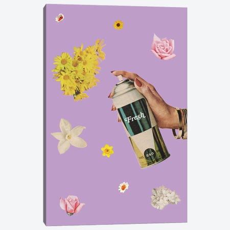 Spring Cleaning Canvas Print #JWK20} by Julia Walck Canvas Print