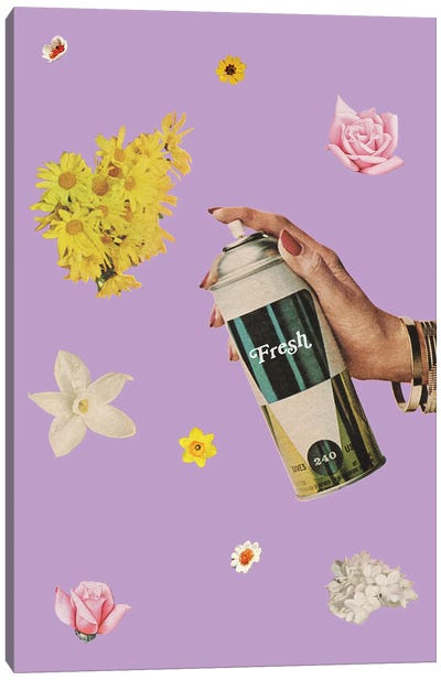 Spring Cleaning Canvas Art Print