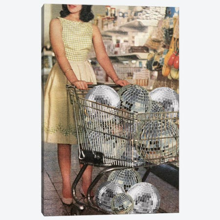 (Disco)Unt Supermarket Canvas Print #JWK28} by Julia Walck Canvas Print