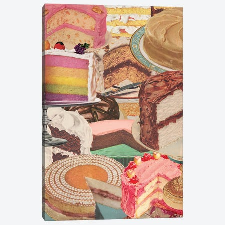 It's My Party Canvas Print #JWK35} by Julia Walck Canvas Art Print