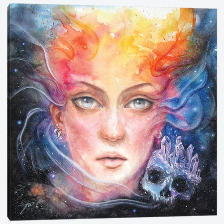 Space Siren Canvas Print #JWL20} by Jamie Wells Canvas Wall Art