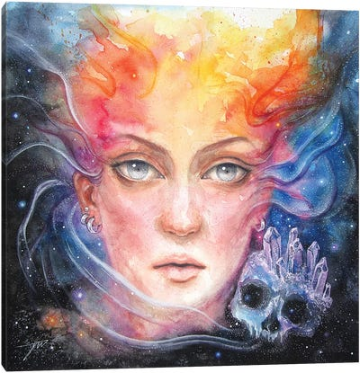 Space Siren Canvas Art Print
