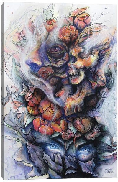 Autumn Aftermath Canvas Art Print