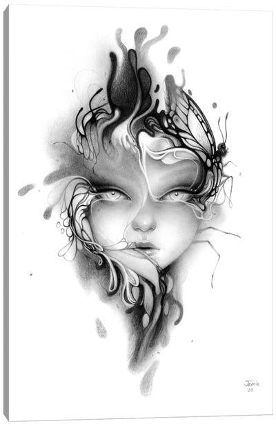 Fever Flower Canvas Art Print