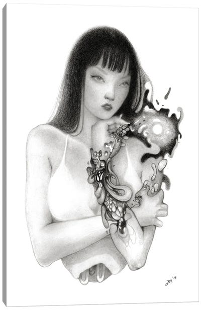 Infection Canvas Art Print