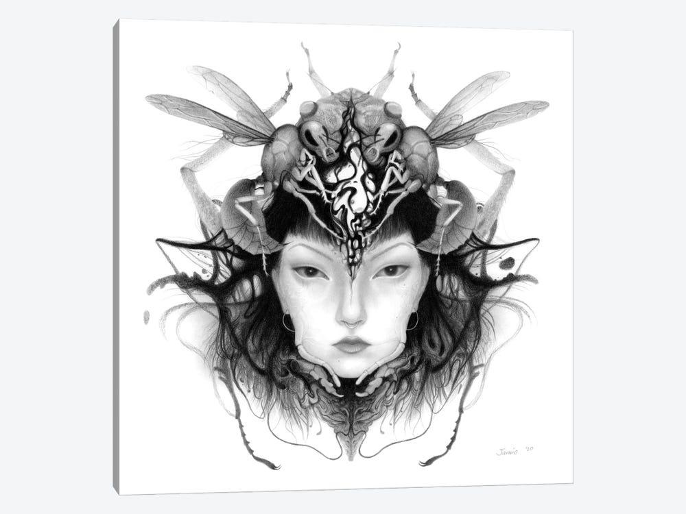 Queen by Jamie Wells 1-piece Canvas Art
