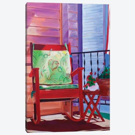 Porch Invitation Canvas Print #JWR25} by Jody Wright Canvas Art Print