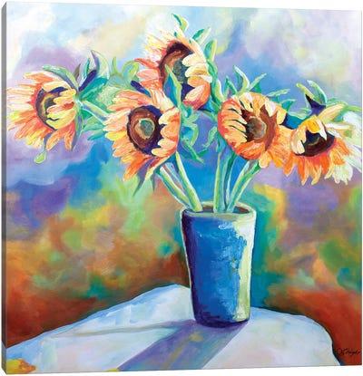 Sunshine In A Vase Canvas Art Print