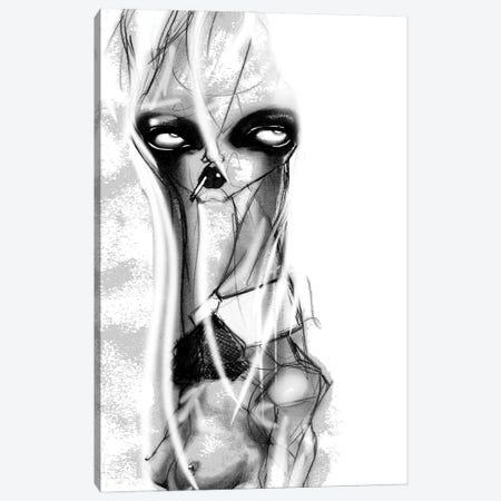 Big Eyes Canvas Print #JWY15} by Jowy Maasdamme Art Print