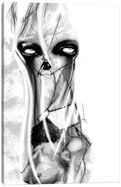Big Eyes Canvas Art Print